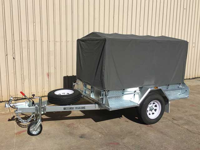 Canvas Cover Trailers