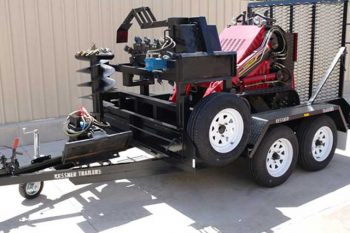 Plant and equipment trailers